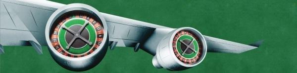 Vliegtuig roulette